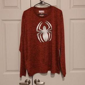 Marvel -  Mens Spider Man Shirt - sz LG